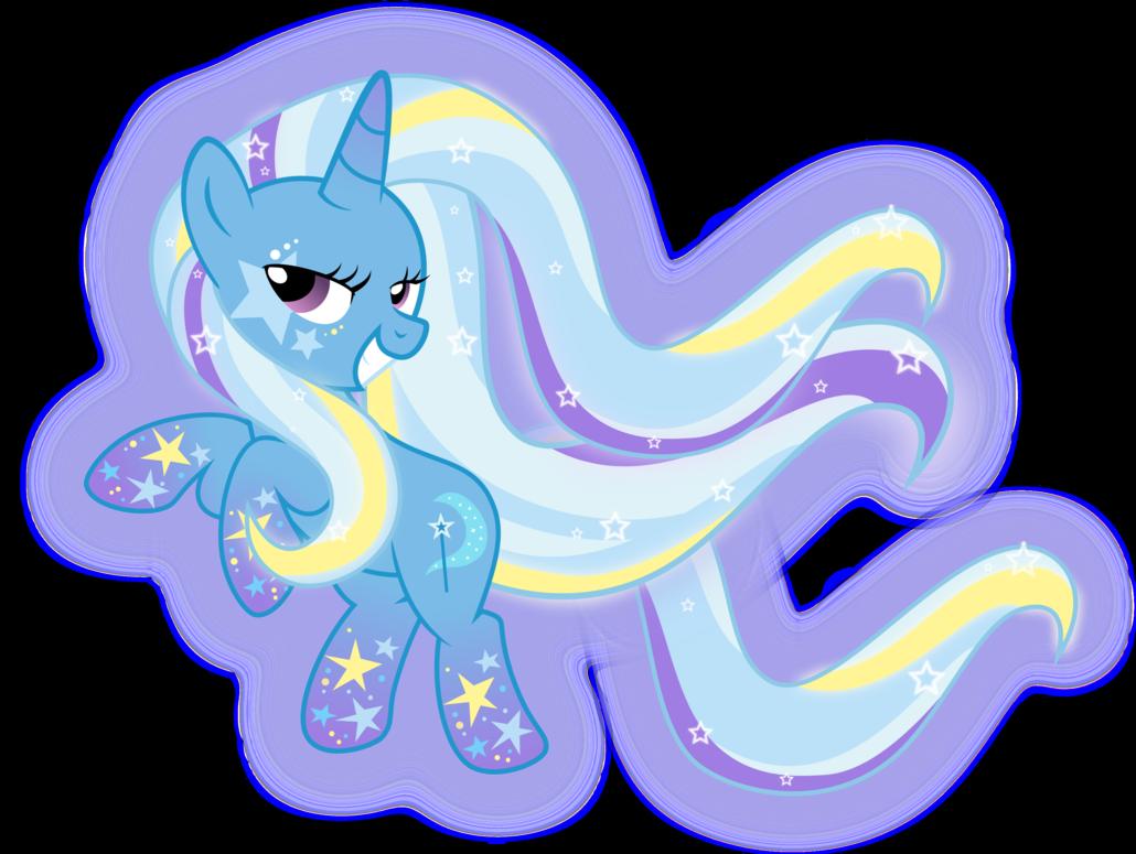 Rainbow Power Trixie by xebck on DeviantArt