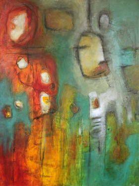 "Saatchi Art Artist Leah Fitts; Painting, ""Simpatico"" #art"