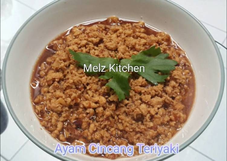 Resep Ayam Cincang Teriyaki Balita Oleh Melz Kitchen Resep Resep Makanan Resep Makanan