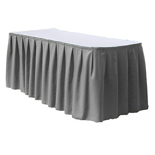 Polyester Table Skirts For 6 Feet Rectangular Table By Florida