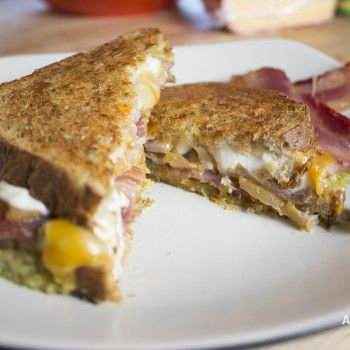 Bacon Guac Grilled Cheese