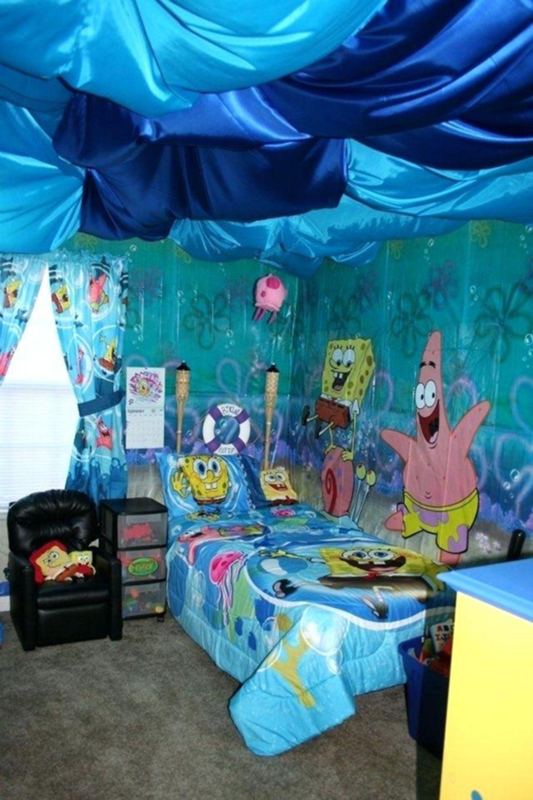 Adorable 25 Cute Kids Bedroom Decorating Ideas For Your Kids Bedroom Https Bosidolot Com 2018 11 16 25 Cute Kids Kids Bedroom Decor Kid Room Decor Kids Room Spongebob bedroom set images