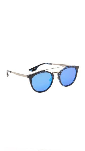 McQ – Alexander McQueen Oxford Mirrored Sunglasses