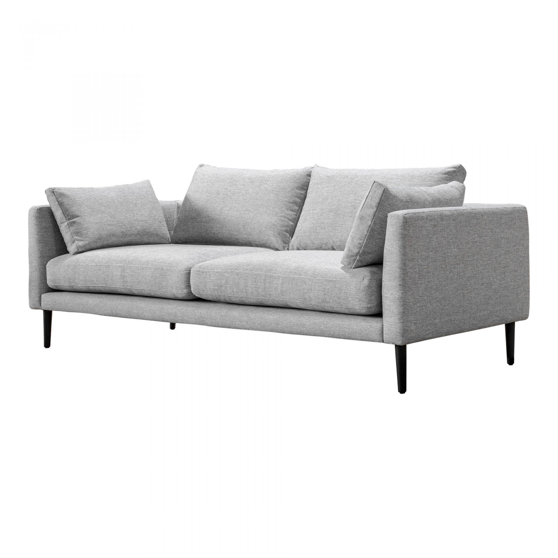 Raval Sofa Light Grey Sofas Moe S Wholesale Modern Grey Sofa Contemporary Modern Sofas Modern Sofa