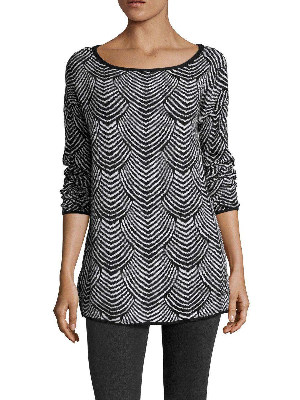 BCBGeneration Knit Cotton Tunic Sweater | the closet 2 | Pinterest ...