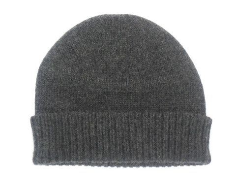 912cd341a Women's 3 ply cashmere beanie hats – Charcoal | sweaters galore ...