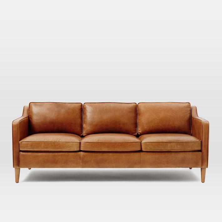 Gentil Hamilton Leather Sofa (81