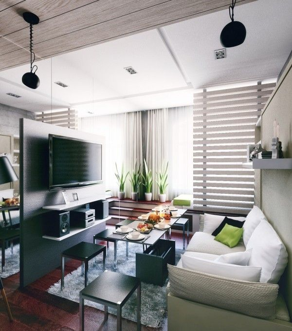 Condo Living Design Ideas: 6 Beautiful Home Designs Under 30 Square Meters [With