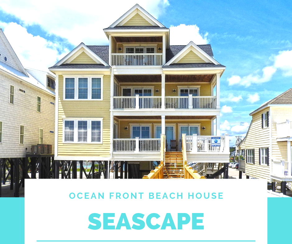 Seascape Is An Eight Bedroom Eight And A Half Bath Oceanfront