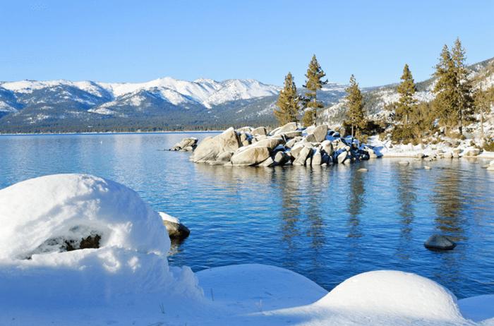 Lake Tahoe Nevada Best Winter Vacations Lake Tahoe Snow Lake Tahoe Nevada