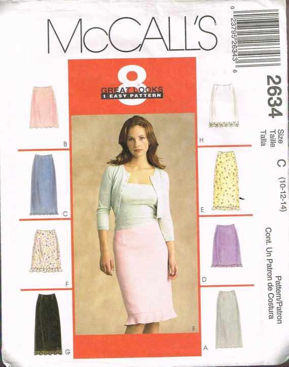 Skirt and Pants  Sewing Pattern Butterick 4878 Misses/'//Miss Petite Top