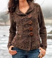 giacche in lana fatte ai ferri