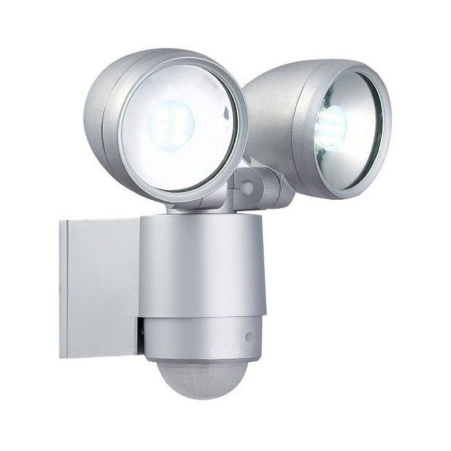 Double modern led security light with pir motion sensor lights for double modern led security light with pir aloadofball Image collections