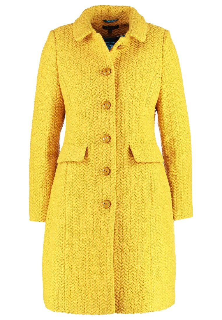 Women Coats King Louie NATHALIE - Classic coat - honey yellow