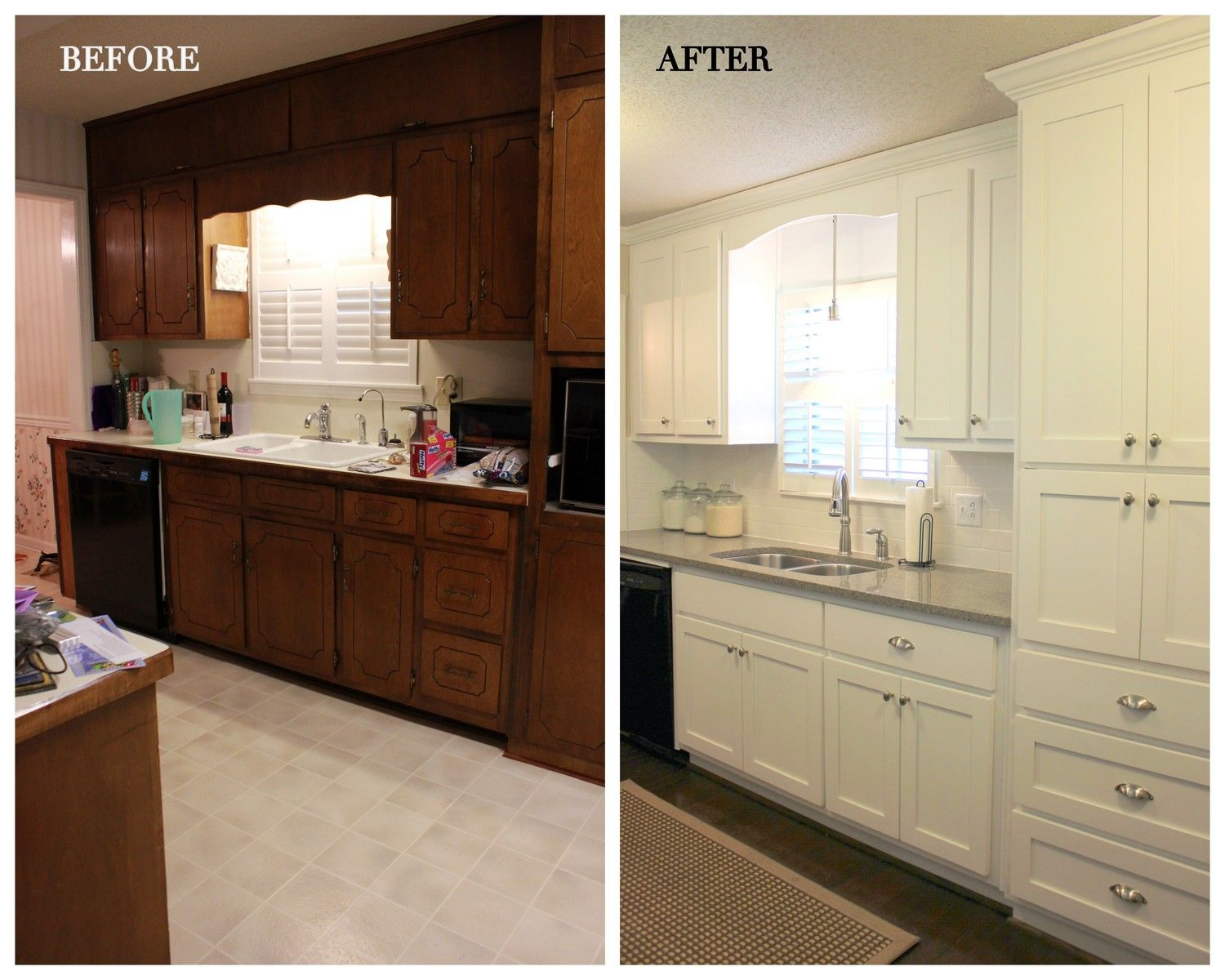 70s Kitchen Before And After 3a Design Studio Kitchen Layout In This Article Very Simil Farmhouse Kitchen Remodel Kitchen Remodel Layout Kitchen Remodel Cost
