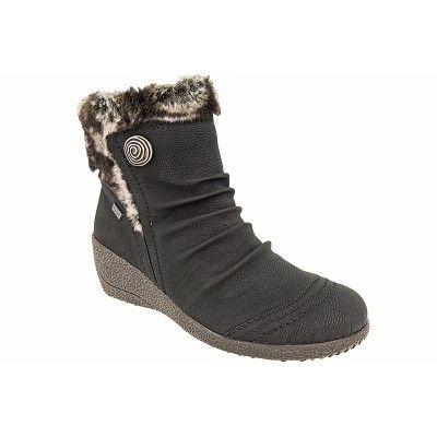 71730a2e830 Γυναικεια μποτακια rieker y0363 | RIEKER ANTISTRESS | Shoes, Wedges ...
