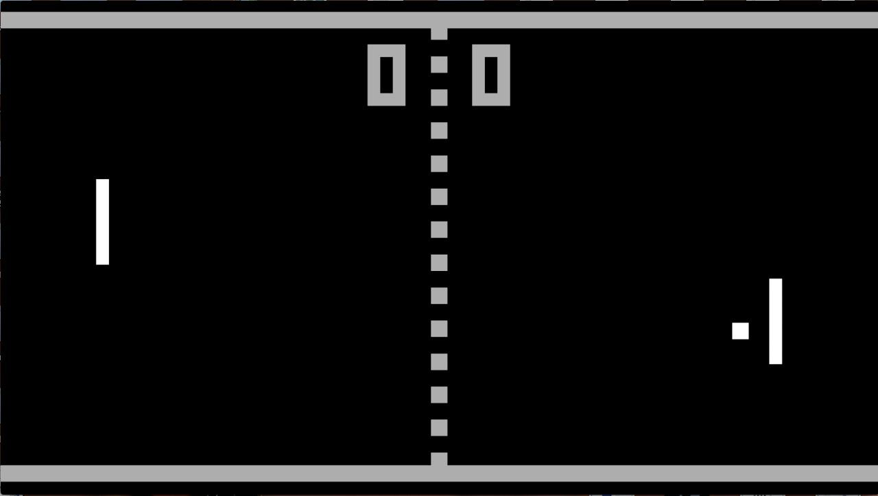 Pong, this was our generations Mario. How sad is it but it was the height of technology when it came out.