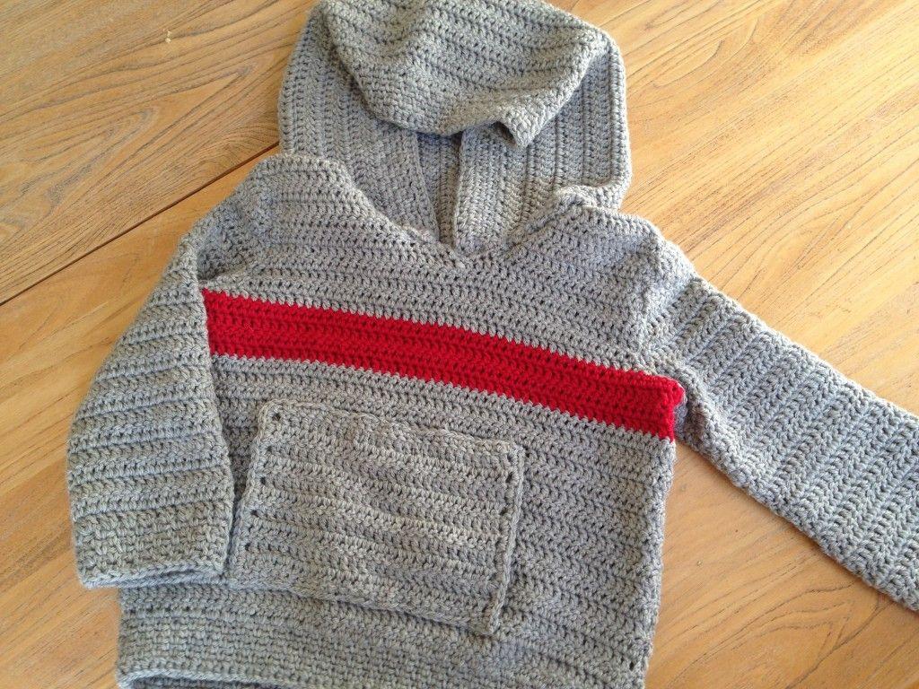Kid\'s crochet sweater free pattern - crochet via ideastoplaywith.com ...