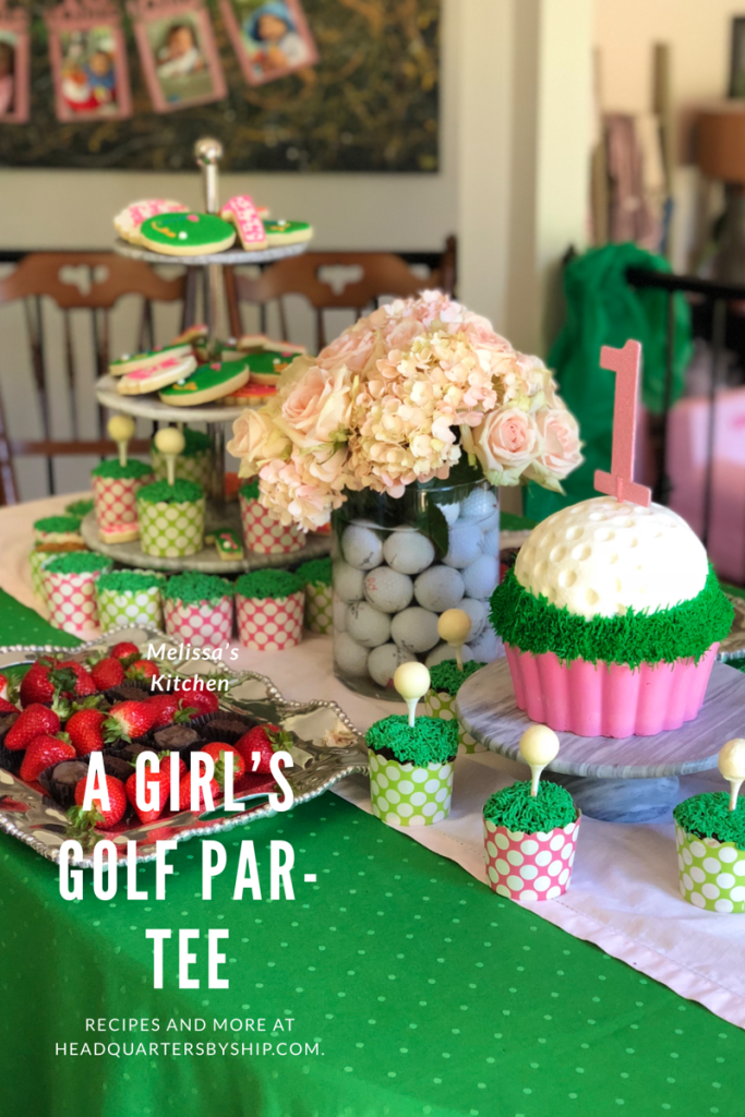 All that you need to create a golf themed party for your child's next birthday.