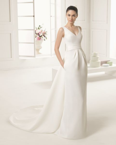 40 vestidos de novias para bajitas, tendencias 2016. ¡alarga tu