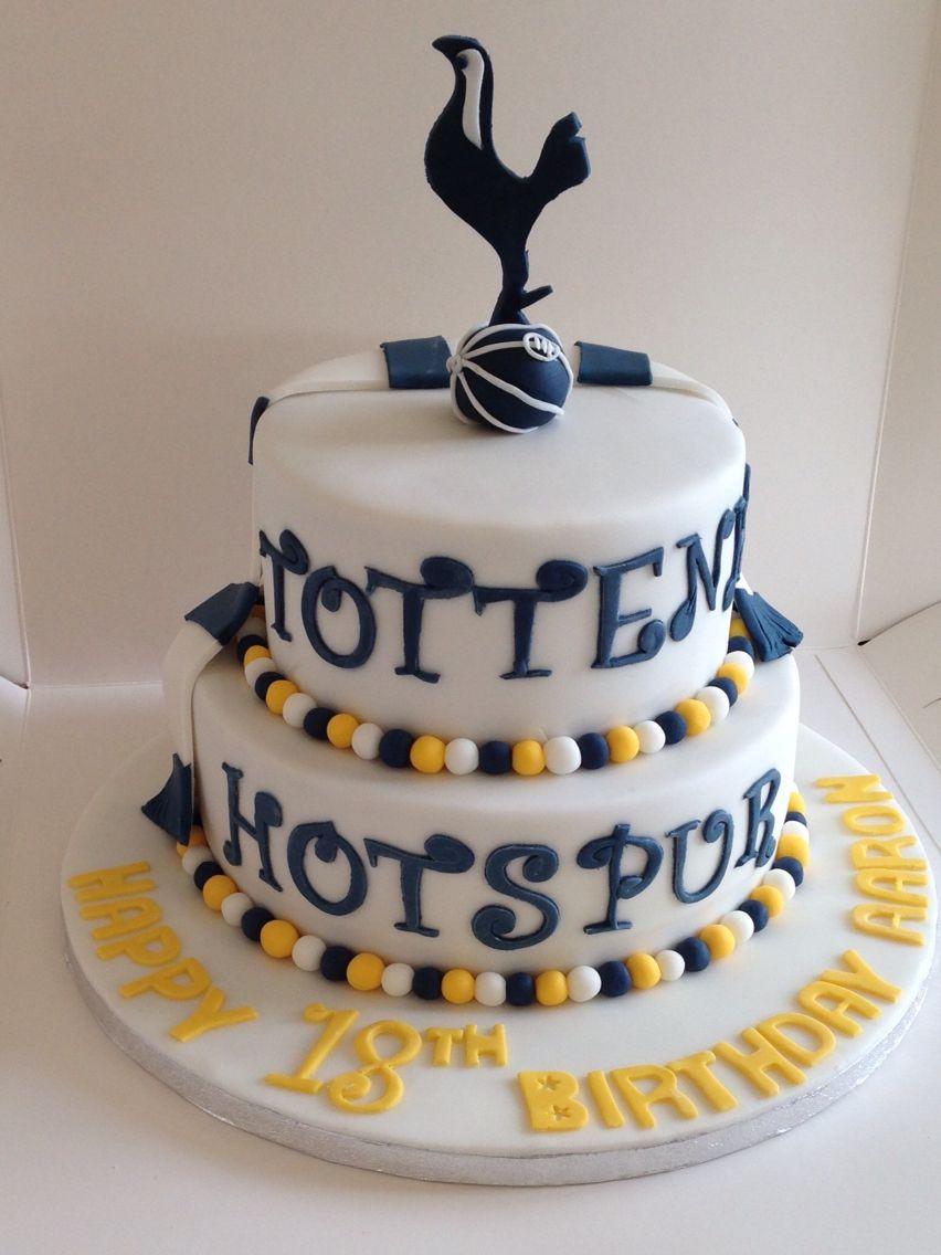 Tottenham Hotspur Cake Birthday Cakes Pinterest Tottenham