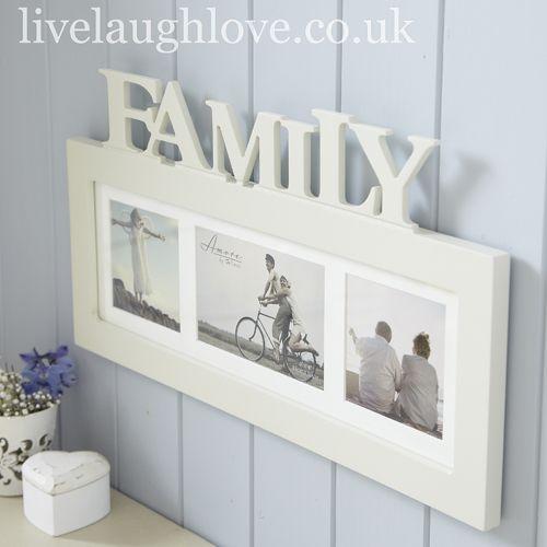 """Multi Frame """"Family"""" £18.00"""
