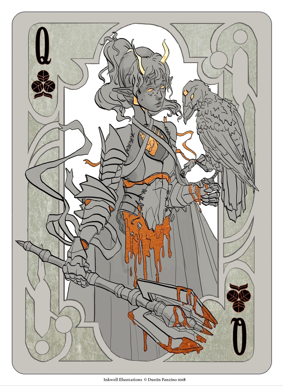 Artstation Fantasy Playing Card Set Dustin Panzino In 2020