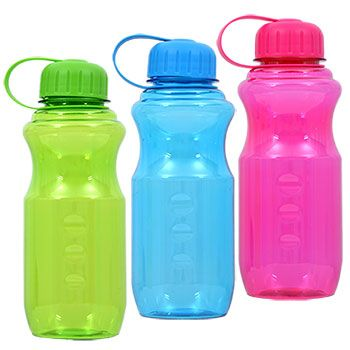 Bulk Plastic Water Bottles With On Lids 28 Oz At
