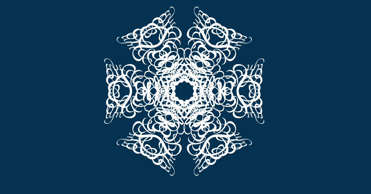 I've just created The snowflake of Sean & Simon & Roslyn.  Join the snowstorm here, and make your own. http://snowflake.thebookofeveryone.com/specials/make-your-snowflake/?p=bmFtZT1IYXBweStOZXcrWWVhcg%3D%3D