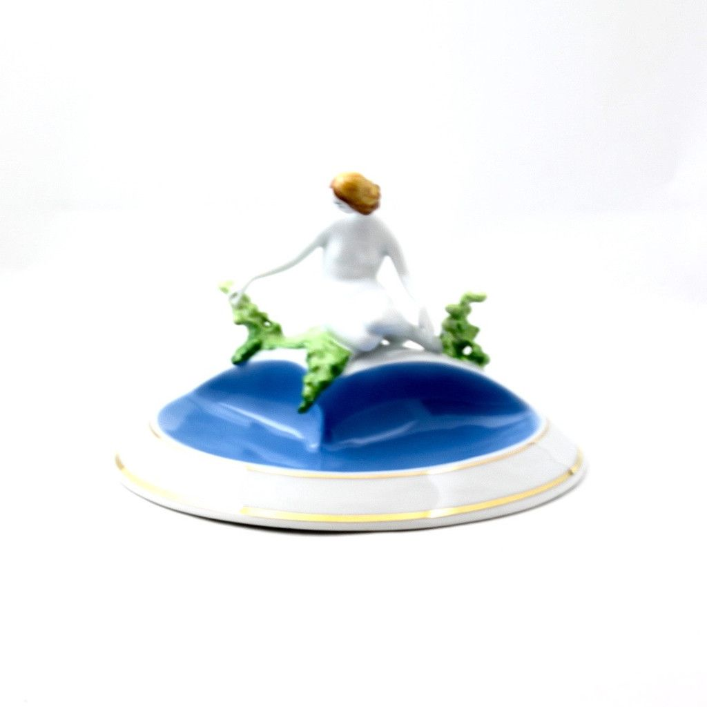 Fine China Porcelain Sittring by Spring Figureine – Gifts by Kasia
