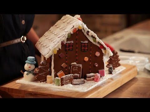 A brief history of Gingerbread. How to make Gingerbread men and houses. A youtube video. Perfect for Christmas.