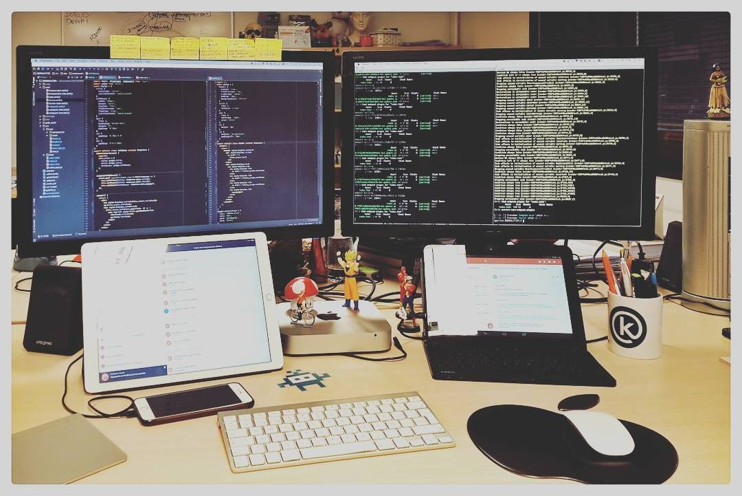 Workstation Developer Webdeveloper Fullstack Javascript Coder Home Office Setup Office Organisation Work Space