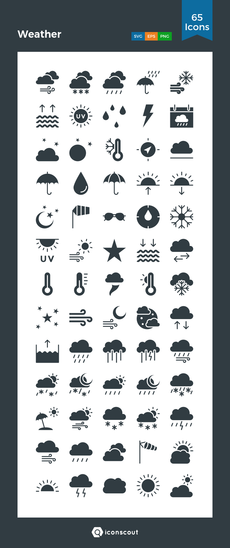 Weather icons download