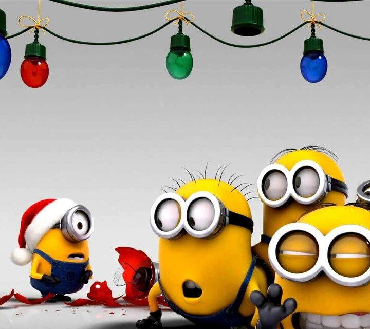 Minion Christmas Lights Minion Christmas Minions Wallpaper Minions