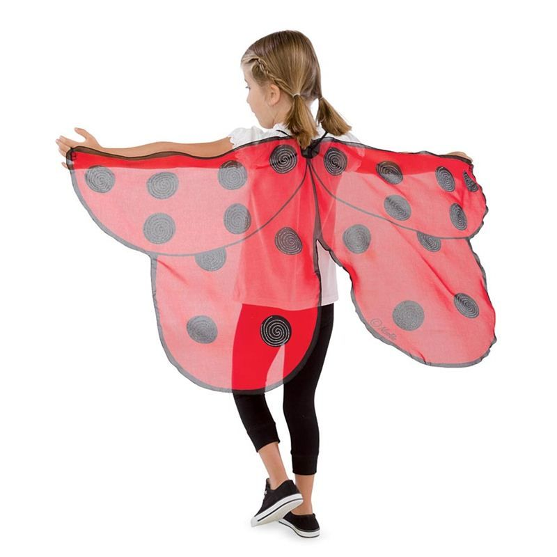 In Green Magic Cabin Fanciful Fabric Butterfly Wings
