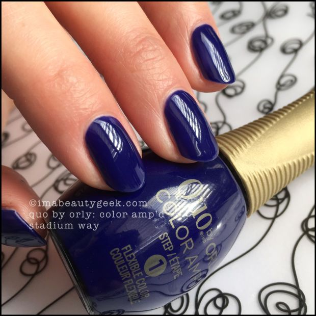 La Looks Nail Polish: NEW QUO BY ORLY COLOR AMP'D WITH NAIL PRO MELISSA FORREST