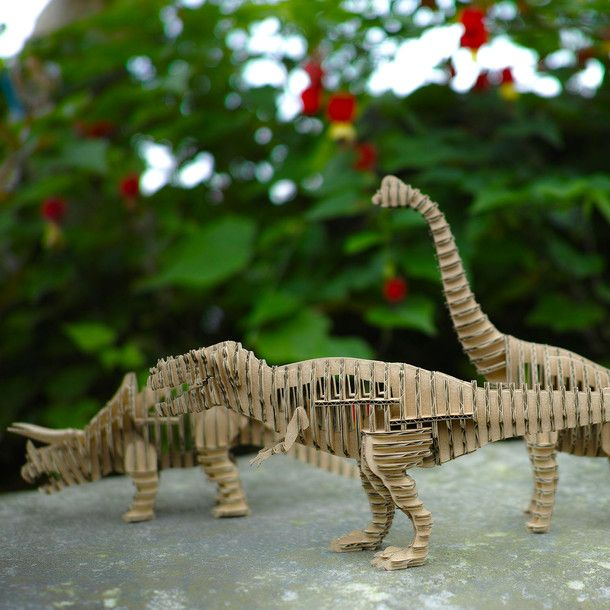 3d Cardboard Dinosaur Models The Kid Inside Of Me Is