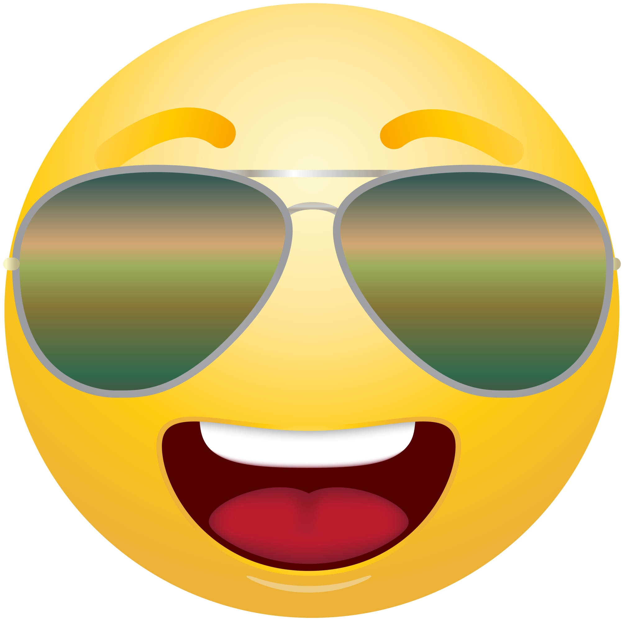 Emoticon Emoji With Sunglasses Clipart Info Clip Art Sunglasses Emoticon