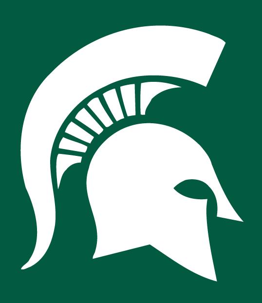 Michigan State Football Symbols Michigan State Spartans Alternate Logo Ncaa Division I I M Michigan State Spartans Michigan State Michigan State Football