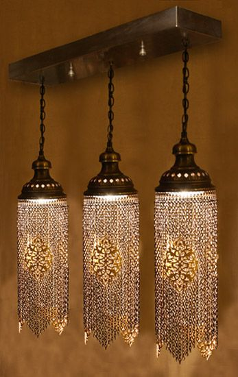 Ottoman Chain Ceiling Chandelier Architectural Turkish Lighting Turkish Lights Turkish Lamps Lamp