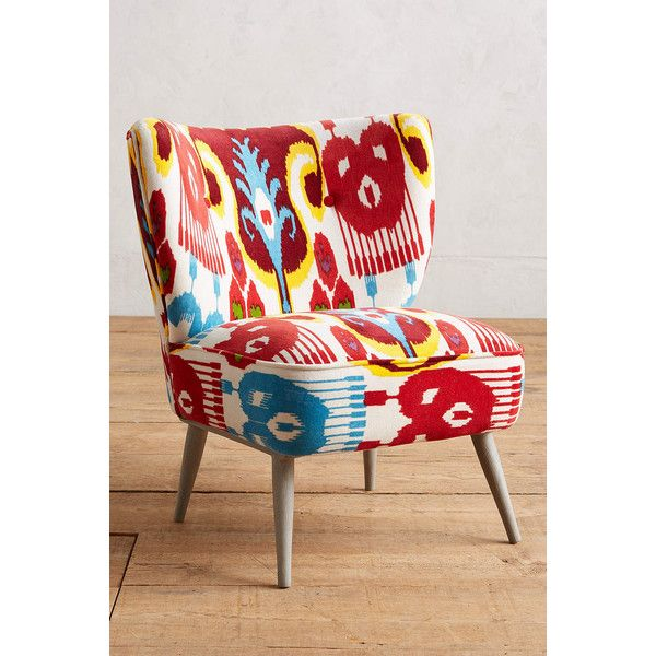 Anthropologie Marialle Ikat Occasional Chair 350 Liked On
