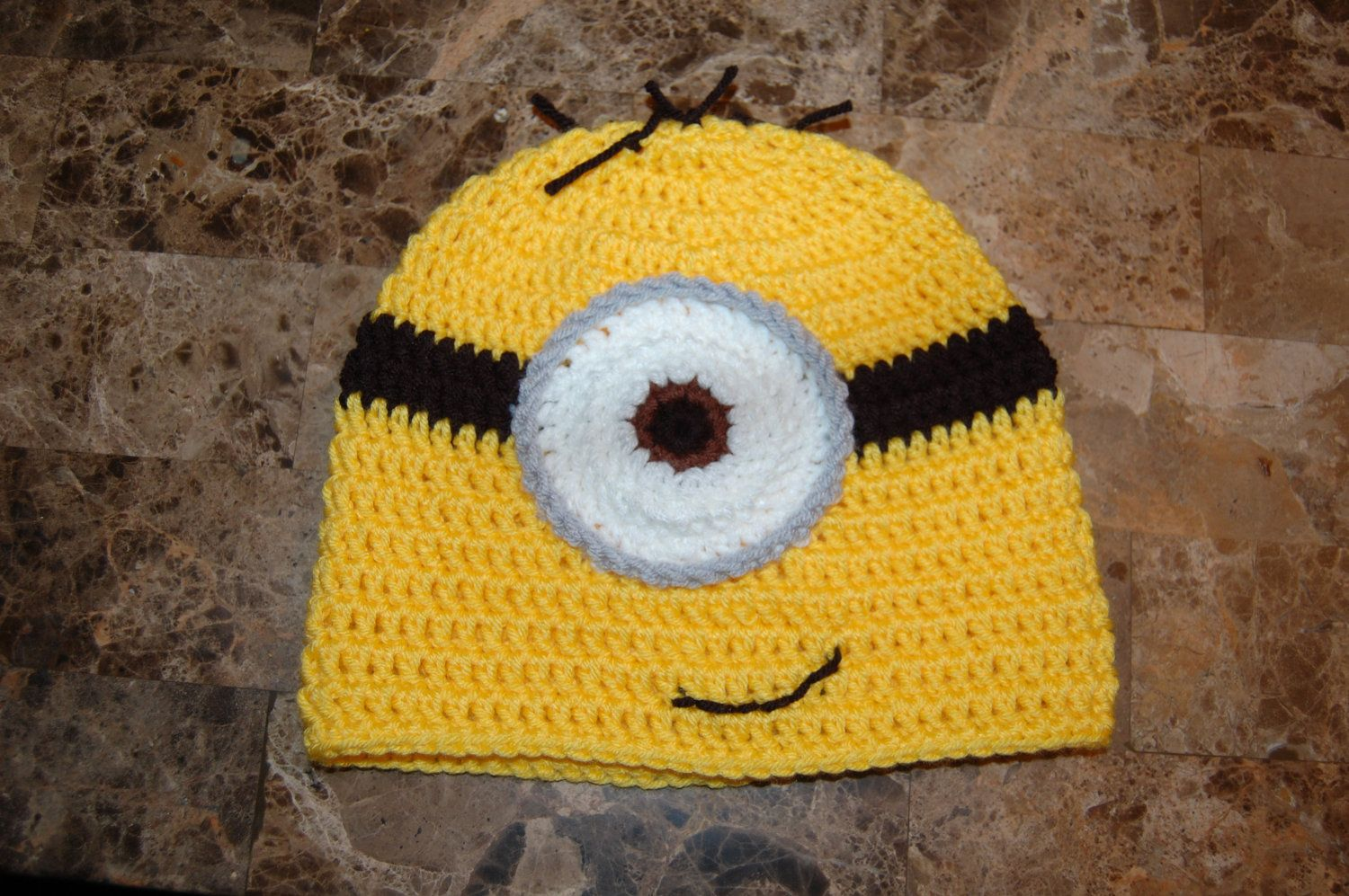 Minion Hat | Crochet Designs | Pinterest