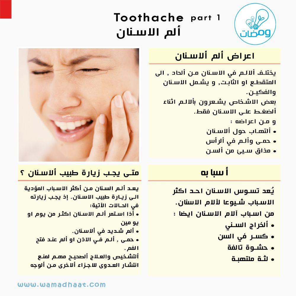 ألم الأسنان لا يطاق ابدااا اعرف الأسباب المصدر Http Www Webmd Boots Com Rami Bassam Tapponi Wamadhaat Shopping