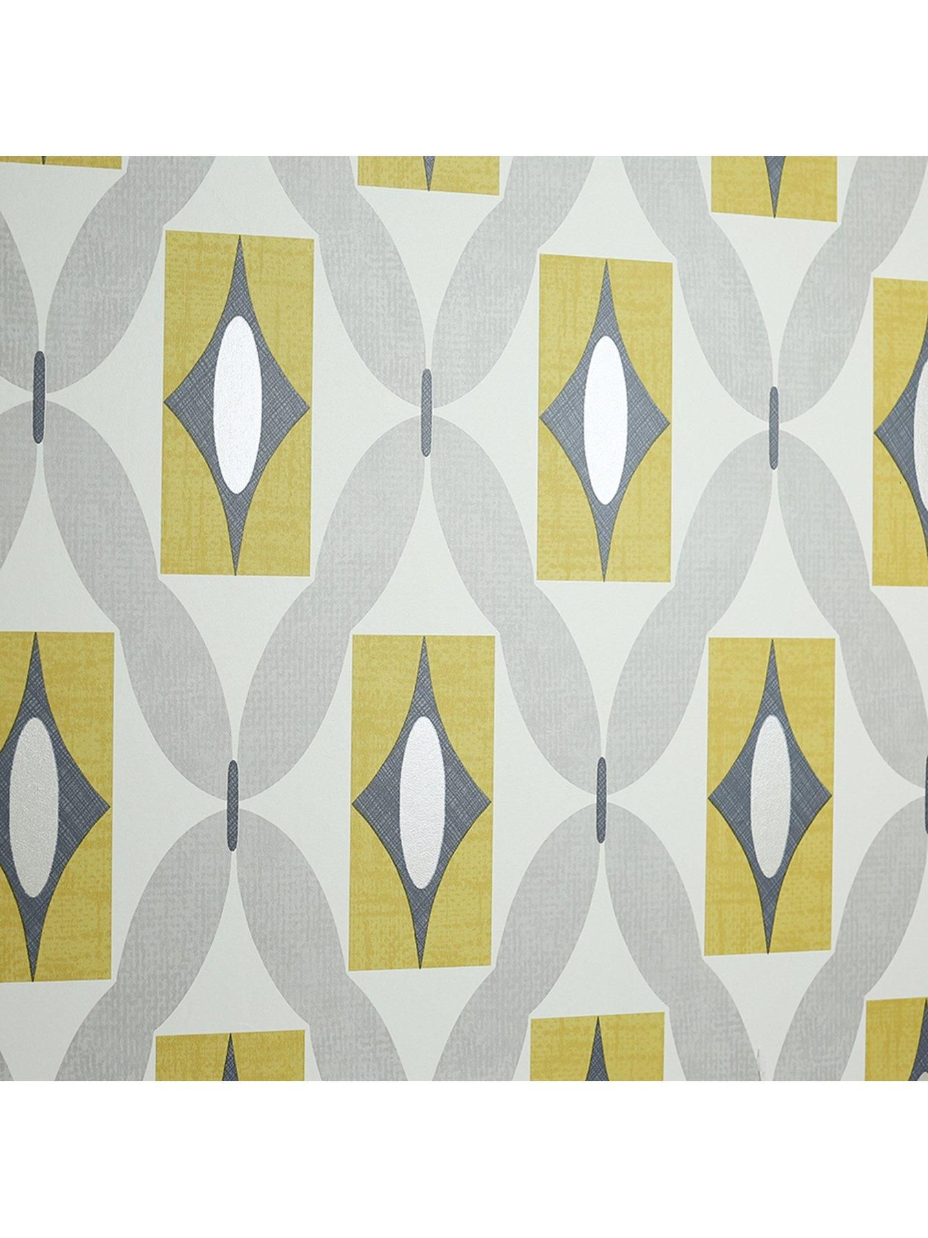 arthouse quartz yellow wallpaper | geometric designs, wallpaper and