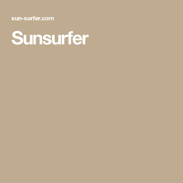 Sunsurfer