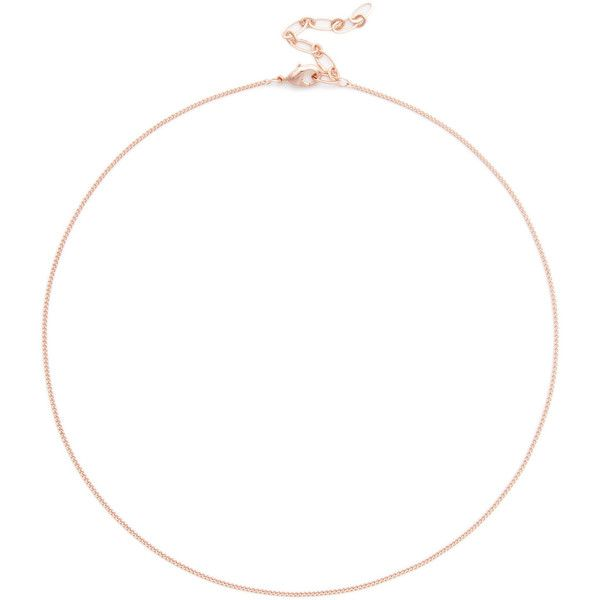 Sole Society Womens Layered Chain Choker Necklace In Color: Rose Gold One Size From Sole Society