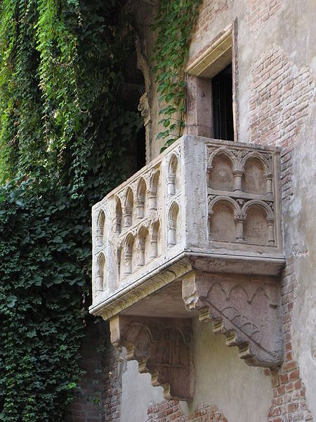 Juliet's Balcony, Casa Di Giulietta, Verona Verona