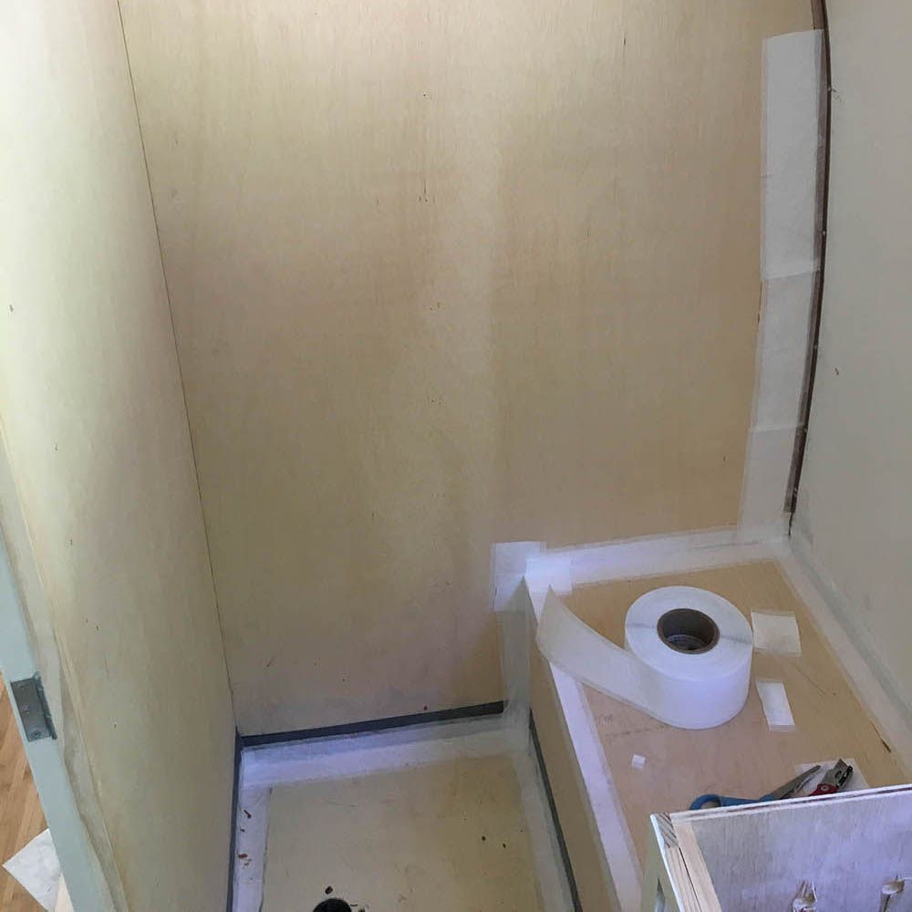 How To Fabricate An Airstream Rv Shower Pan With No Mortar Part