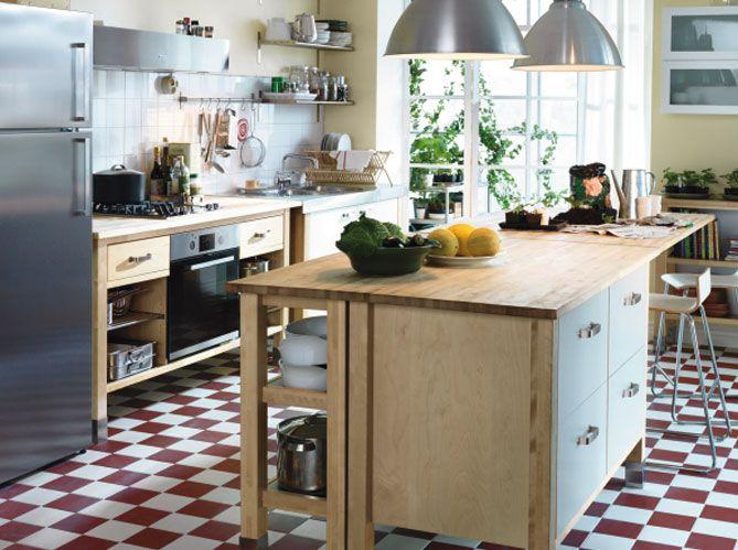 Cuisine Avec Ilot Central Ikea Cuisine Pinterest Ilot - Meuble de cuisine ilot central pour idees de deco de cuisine