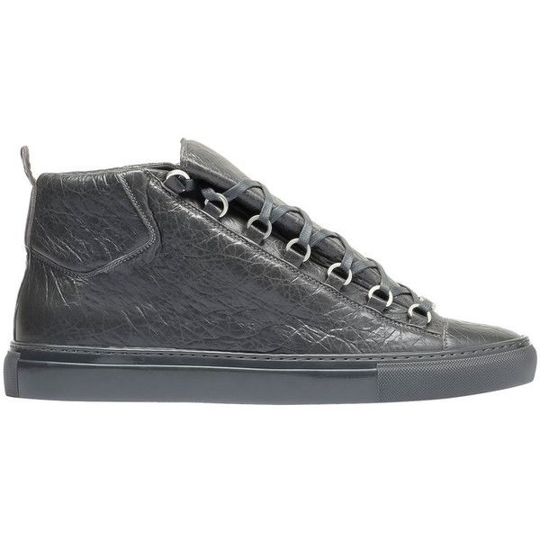 82c758422913 Balenciaga Arena High Sneakers ( 585) ❤ liked on Polyvore featuring mens